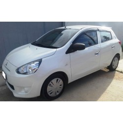 02/2015 Mitsubishi Mirage 1.2 MT Rent to buy 20x 12.500 ฿